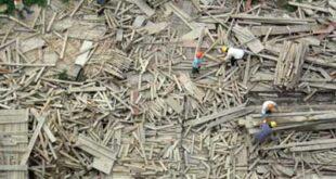 Υπολογίζεται σήμερα πως τουλάχιστον το 10% των υλικών ενός εργοταξίου μένει αχρησιμοποίητο λόγο φθοράς