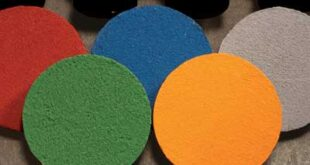 Xρωματιστή άσφαλτος της Iterchimica